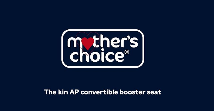 Mothers Choice Kin AP Booster Seat - Superior side impact protection AirProtect