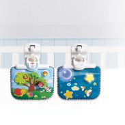 Double Sided Cot Baby Toy