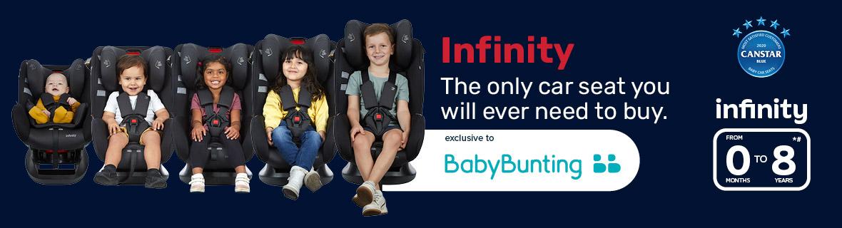 New Infinity Convertible Car Seat